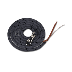 Western Lead Rope black