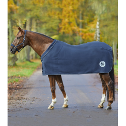 Zweetdeken Fleece Alcantara Waldhausen Blue