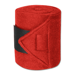 Bandages Fleece Star red