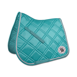 Zadeldek Fashion Ride  Aqua Blauw
