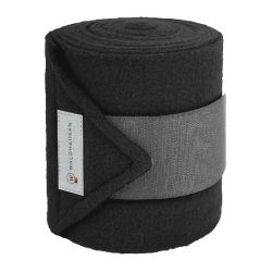 Bandages Esperia Fleece pony black grey