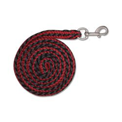 Halstertouw Plus Rope Ruby Red - Zwart
