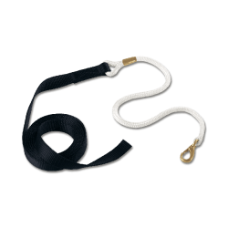Natural Horseman Lead Rope Black
